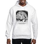 Theater Cartoon 4562 Hooded Sweatshirt