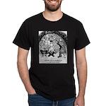 Theater Cartoon 4562 Dark T-Shirt