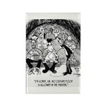 Theater Cartoon 4562 Rectangle Magnet (10 pack)