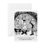 Theater Cartoon 4562 Greeting Card