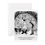 Theater Cartoon 4562 Greeting Cards (Pk of 20)