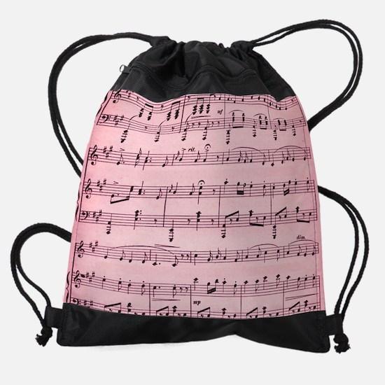 Sheet Music Drawstring Bag