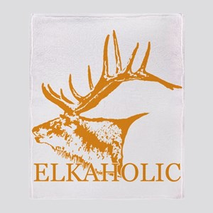 Elkaholic o Throw Blanket