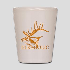 Elkaholic o Shot Glass