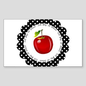 First Day of School Sticker