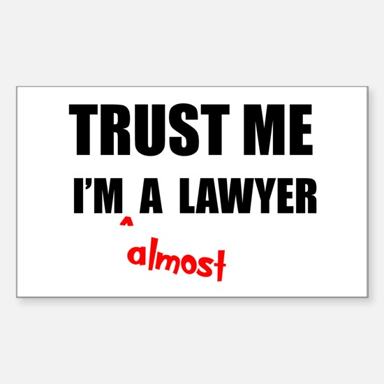 Law Student Bar Exam Decal