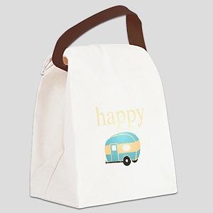 Personality_HappyCamper Canvas Lunch Bag
