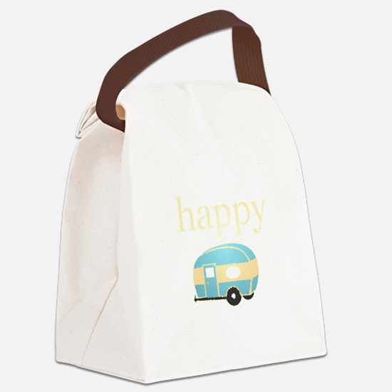 Personality_HappyCamper.png Canvas Lunch Bag