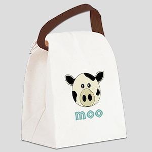 AnimalNoises_CowMoo Canvas Lunch Bag