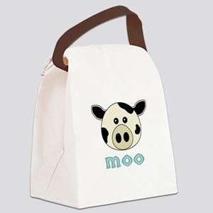 AnimalNoises_CowMoo.png Canvas Lunch Bag