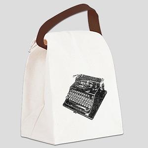 antique typographic vintage typewriter Canvas Lunc