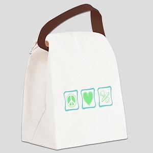 PeaceLovePacifier copy Canvas Lunch Bag