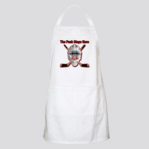 Puck Stops Here BBQ Apron