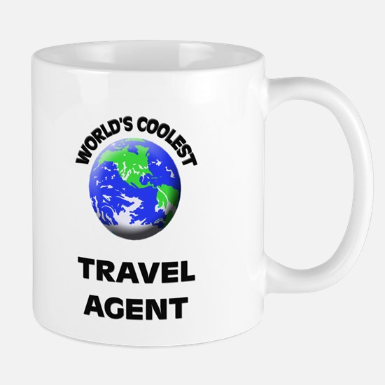 World's Coolest Travel Agent Mug