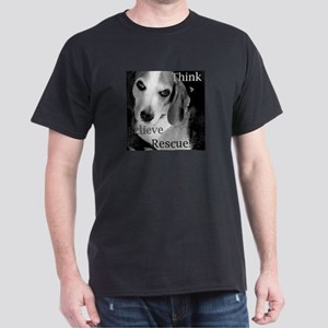 Think, Believe, Rescue! Dark T-Shirt