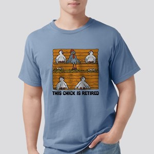 Retired Chick Mens Comfort Colors Shirt