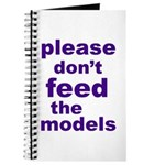 Please Don't Feed The Models Journal