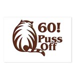60! Puss Off, 60th Postcards (Package of 8)