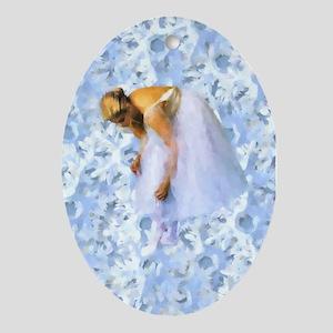 Snowflake Ballerina Ornament