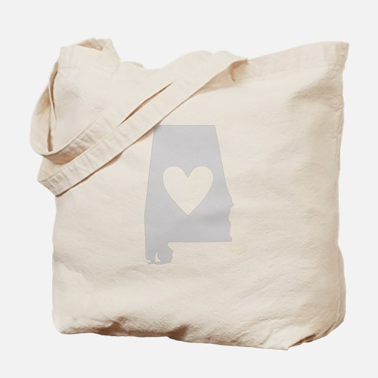 Heart Alabama Tote Bag