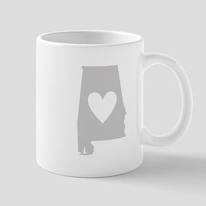 Heart Alabama Mug