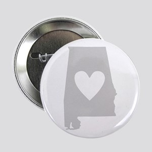 "Heart Alabama 2.25"" Button"