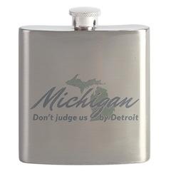 Michigan Dont Judge Flask