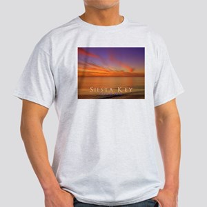 Siesta Key Florida Blue Orang Light T-Shirt
