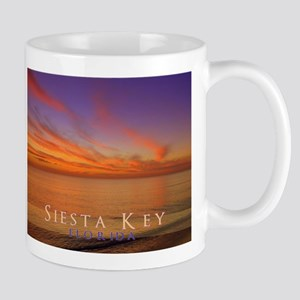 Siesta Key Florida Blue Orang Mug