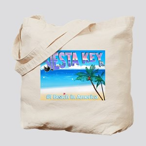 Siest Key, FL #1 Beach in Ame Tote Bag