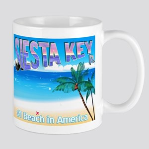 Siest Key, FL #1 Beach in Ame Mug