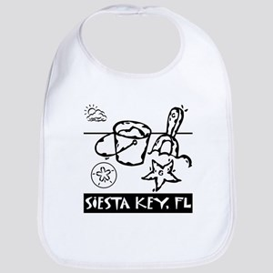 Siesta Key Kids Bib