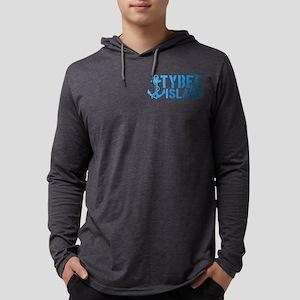 Tybee Island, Ga Mens Hooded Shirt