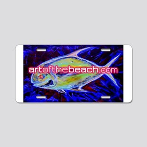 artofthebeach Aluminum License Plate