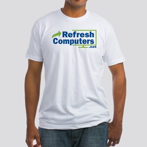 Refresh Computers Fitted Men's T-Shirt