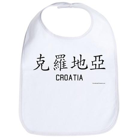 Croatia in Chinese Bib