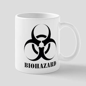 Biohazard White Mug