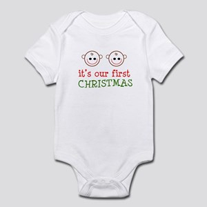 It's our first Christmas (twi Infant Bodysuit