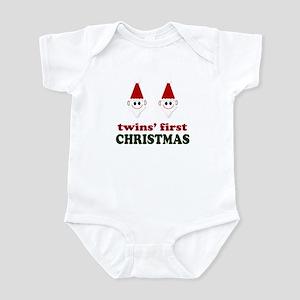 Twins Christmas Design Infant Bodysuit