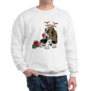 Basset Hound Christmas Sweatshirts Hoodies Cafepress
