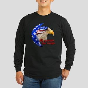 """American Rag Eagle"" Long Sleeve Dark T-Shirt"