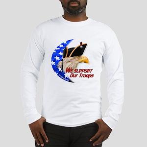 """American Revolutionary Eagle"" Long Sleeve T-Shirt"