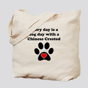 Chinese Crested Dog Day Tote Bag