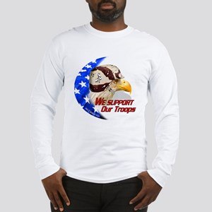 """American BDU Eagle"" Long Sleeve T-Shirt"