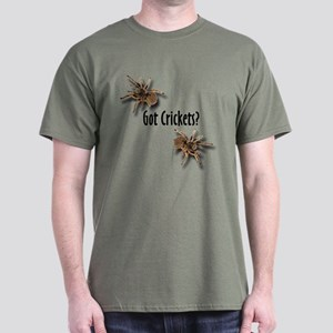 Tarantula Got Crickets (Green) T-Shirt