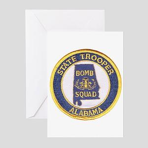 Alabama Bomb Squad Greeting Cards (Pk of 10)