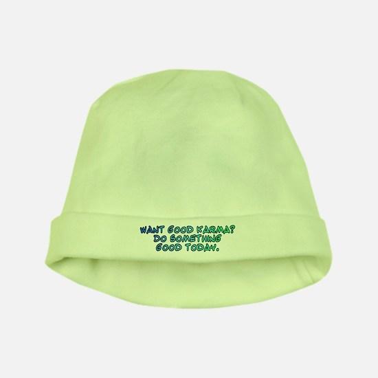 Want good karma? baby hat