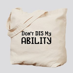 Don't Disability Tote Bag