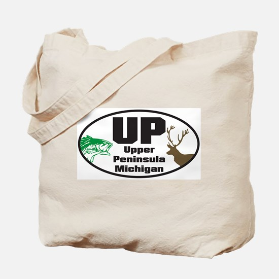 Upper Peninsula Tote Bag