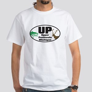Upper Peninsula White T-Shirt